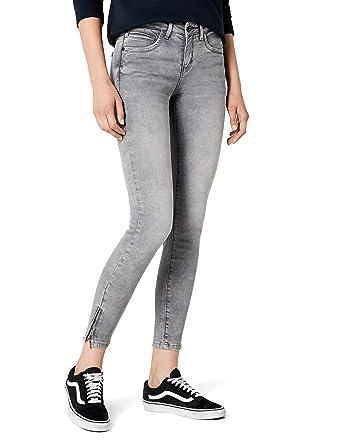 ONLY Damen Jeanshose onlKENDELL REG SK ANK Jeans Grey NOOS  Amazon.de   Bekleidung f830fe3452