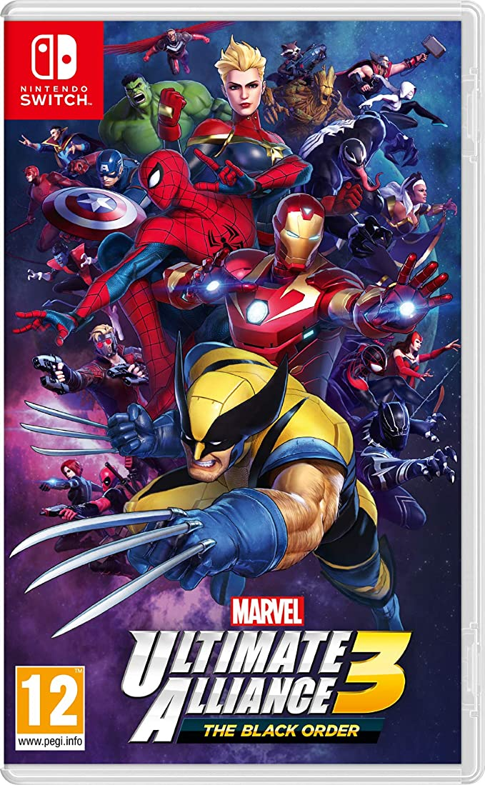 Marvel Ultimate Alliance 3: the Black Order - Nintendo Switch [Importación inglesa]