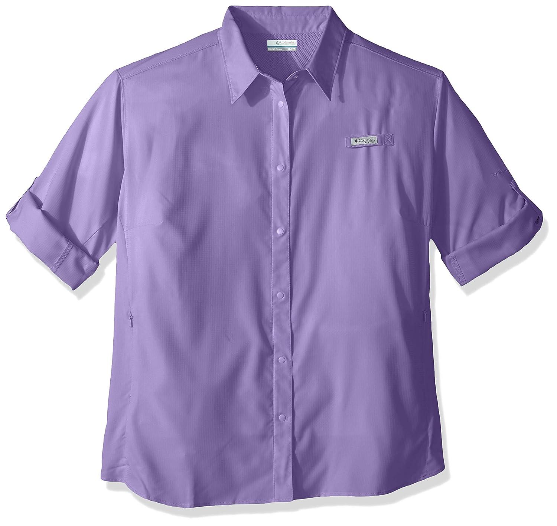 Columbia Womens Tamiami Ii Plus Size Long Sleeve Shirt