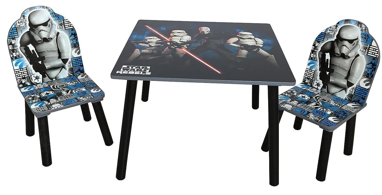 Disney quot; Star Wars Tisch und Stühle, Holz, Schwarz Jnh Europe Ltd TCSW5