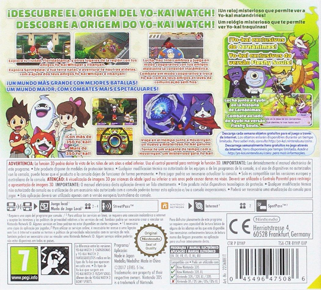 Yo-Kai Watch 2: Carnánimas + Medalla - Edición Especial ...