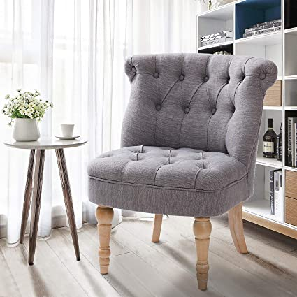 Amazon Finnhomy Furniture Accent Chair Tifted Armless
