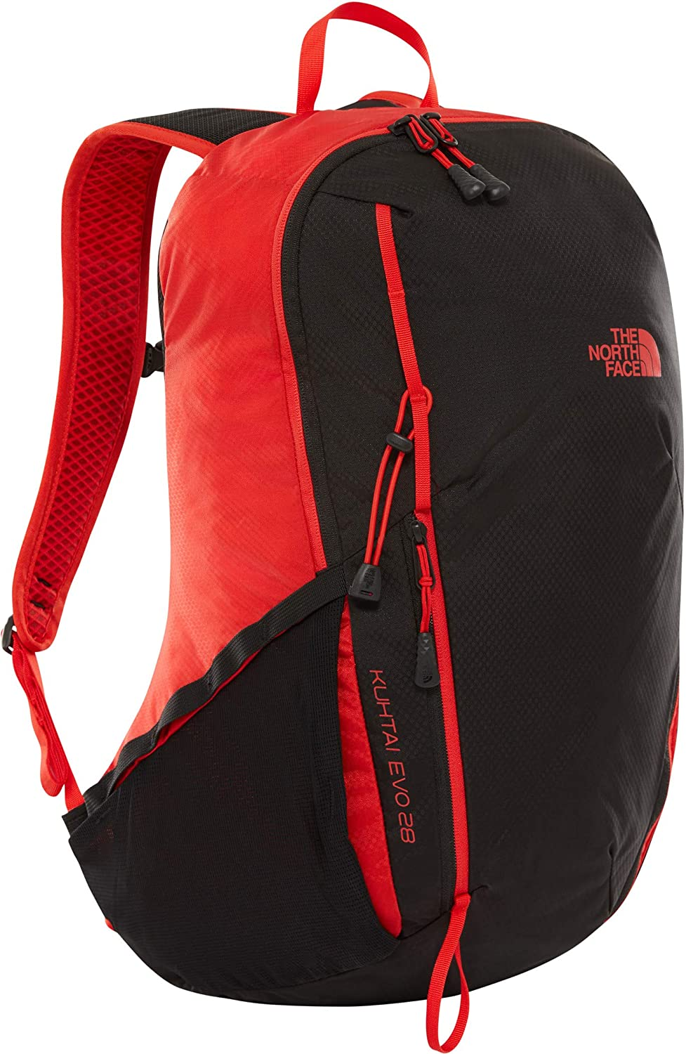 THE NORTH FACE Kuhtai Evo 28リュック - Fiery Red/Tnf Black、ワンサイズ   B07LH6XCGF