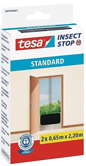 Extrem tesa Insect Stop STANDARD Fliegengitter für Türen - 2-tlg EC21