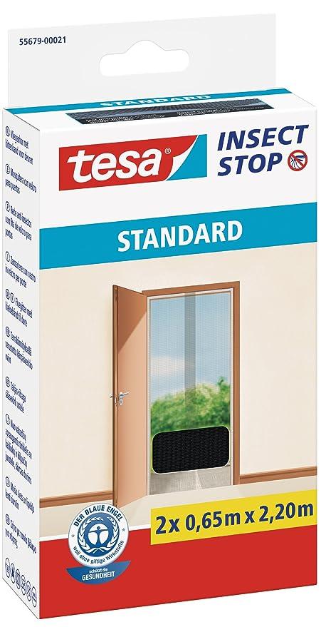Top tesa Insect Stop STANDARD Fliegengitter für Türen - 2-tlg AX55