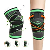 Odoland Calf Compression Sleeve Leg Compression Socks Graduated Calf Pain Relief Calf Guard Shin Splints Sleeves - for Running Jogging Cycling Fitness & Exercise Boosts Circulation - 1 Pair