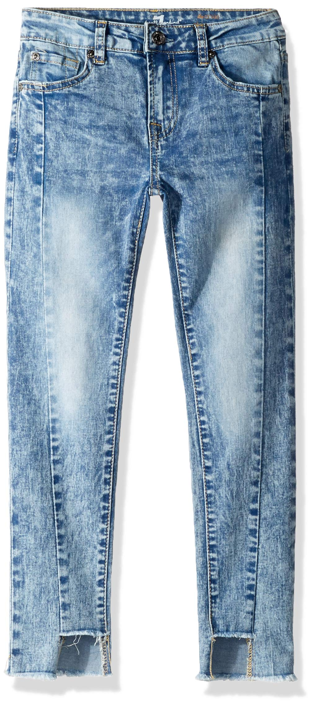 7 For All Mankind Kids Girls' Big Ankle Skinny Stretch Jean, Authentic Sonar 7 by 7 For All Mankind (Image #1)