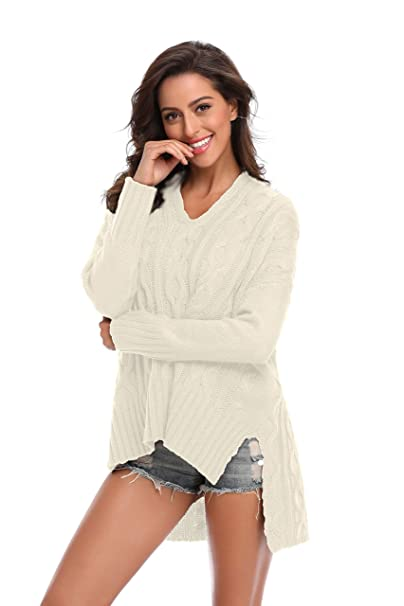SHEKINI Womens Cardigan Sweater Plus Size Open Front Knit Sweater with  Pocket Long Sleeve Sweater Coat 3 Types for Choise