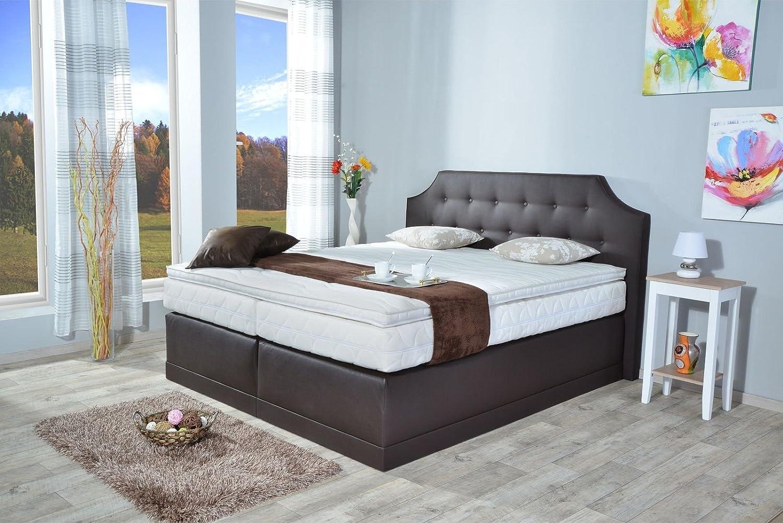 boxspringbett lima bt auch mit bettkasten oder elektrisch erh ltlich 80x200cm 90x200cm. Black Bedroom Furniture Sets. Home Design Ideas