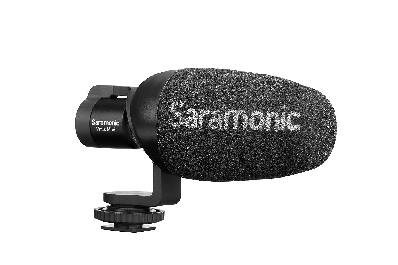 Microfono Saramonic Vmicmini Shotgun Para Celular Y Tablet