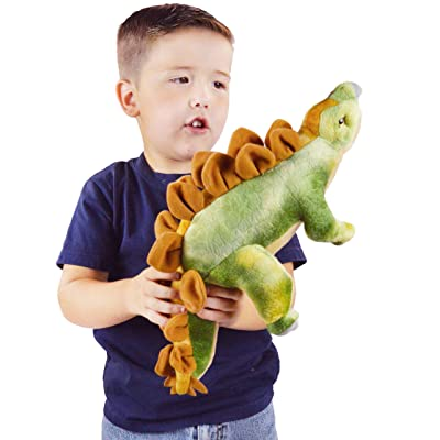 VIAHART Samson The Stegosaurus | 15.5 Inch Stuffed Animal Plush Dinosaur | by Tiger Tale Toys: Toys & Games