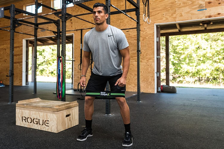 Oso Komplex Hip Igniter banda de resistencia - Warm Up Caderas y piernas y mejorar su estiramiento y movilidad para levantamiento de pesas, Pilates, ...