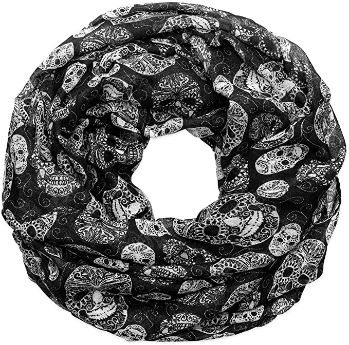 Acheter foulard echarpe bandana tete de mort online 16