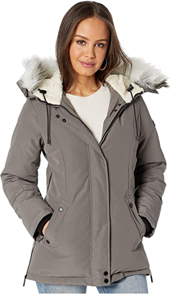 Short Hooded Parka