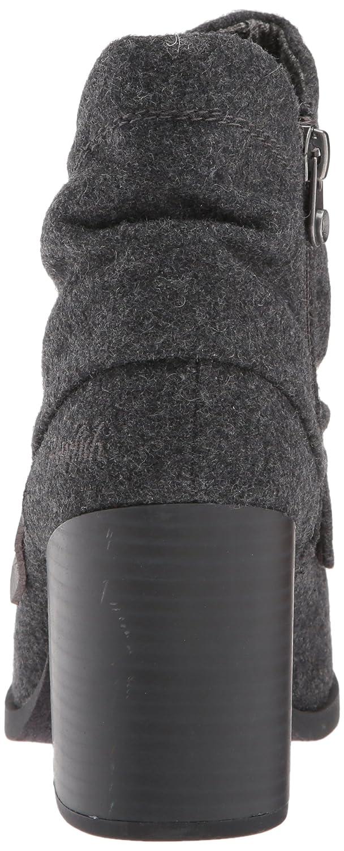 Blowfish Women's Daphna Ankle Bootie B01N4GJ02I 7.5 B(M) US Grey Tone Flannel/Dyecut Polyurethane