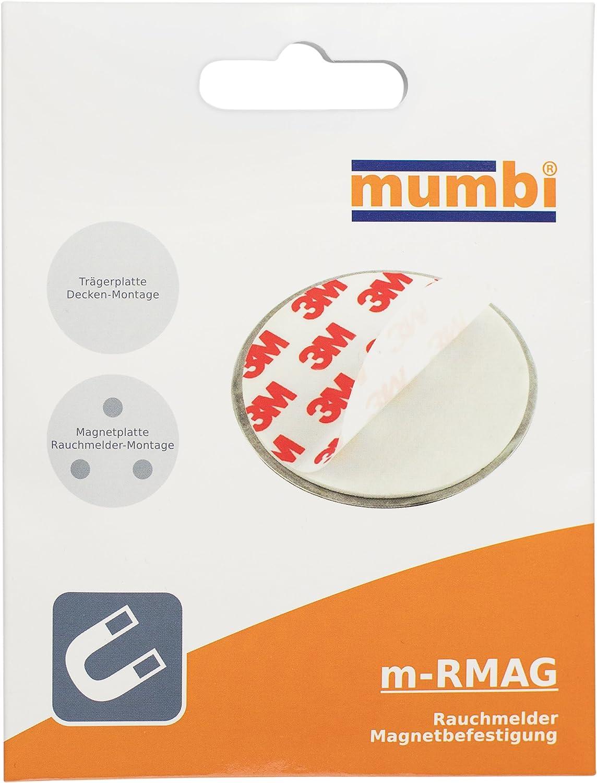 9 Stück Magnet Befestigungsset für Rauchwarnmelder Neu /& OVP