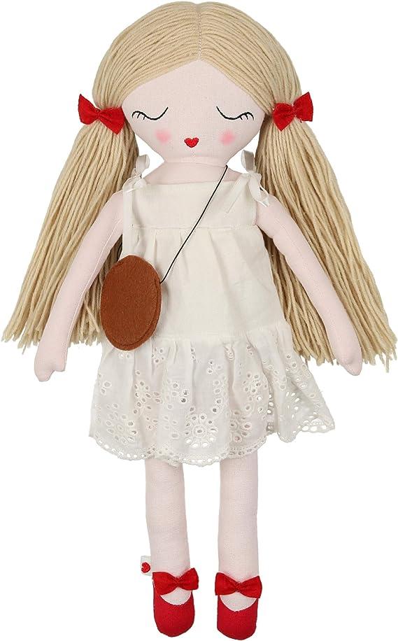 Mila Plush Handmade Doll, 19