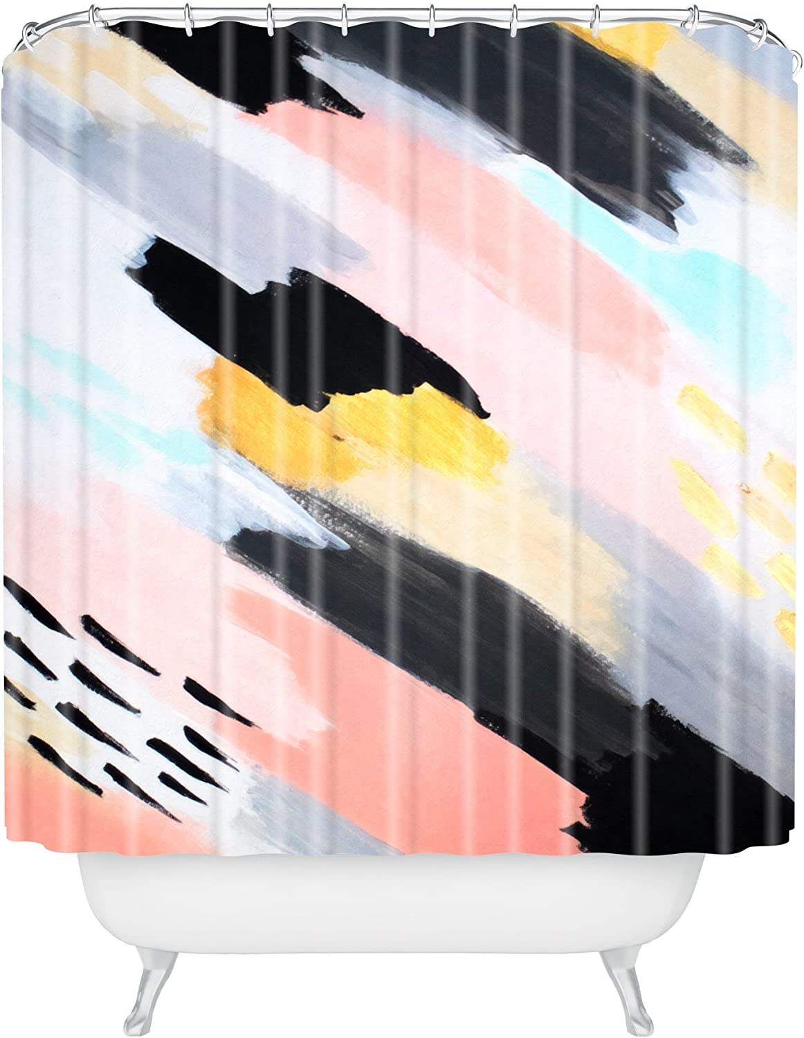 Deny Designs Laura Fedorowicz One Way Shower Curtain 69 X 72 Home Kitchen