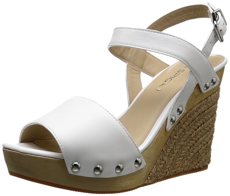Via Spiga Women's Wallis Wedge Sandal B013W3HRDY 7 B(M) US|White