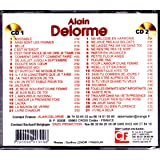 "CD Double Alain Delorme & Crazy Horse "" Ultra Top 42 titres """