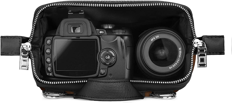 Lencca Carrying Bag for Nikon Coolpix P950 W150 B600 A1000 Z50 D780 Z7 Z6 D3500