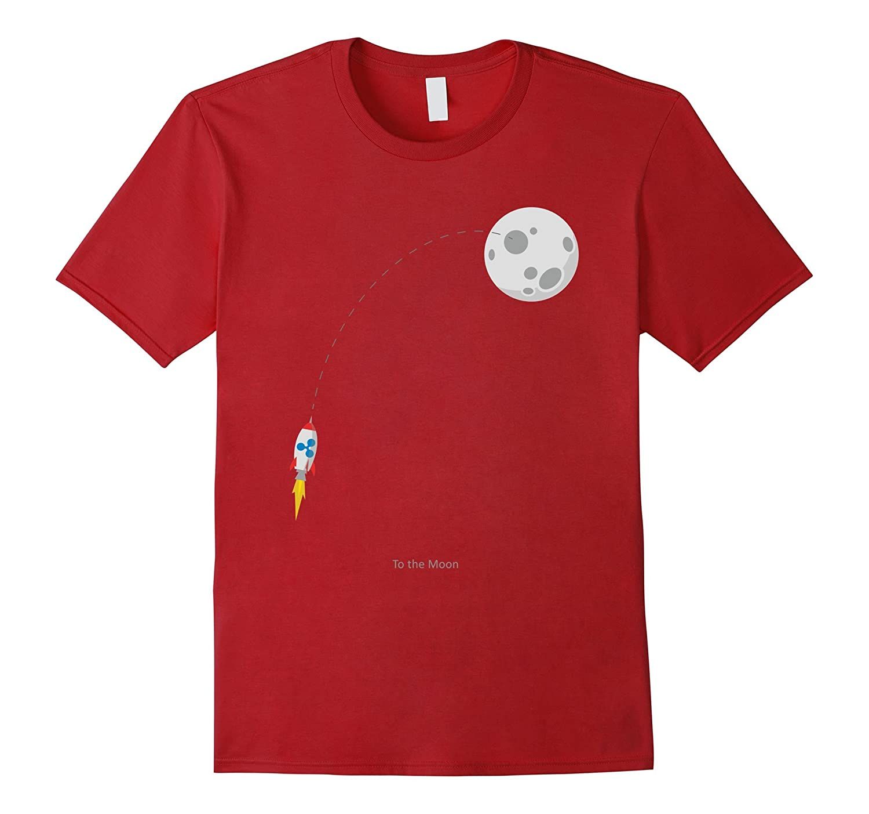 ripple xrp rocket to the moon t shirt rt rateeshirt
