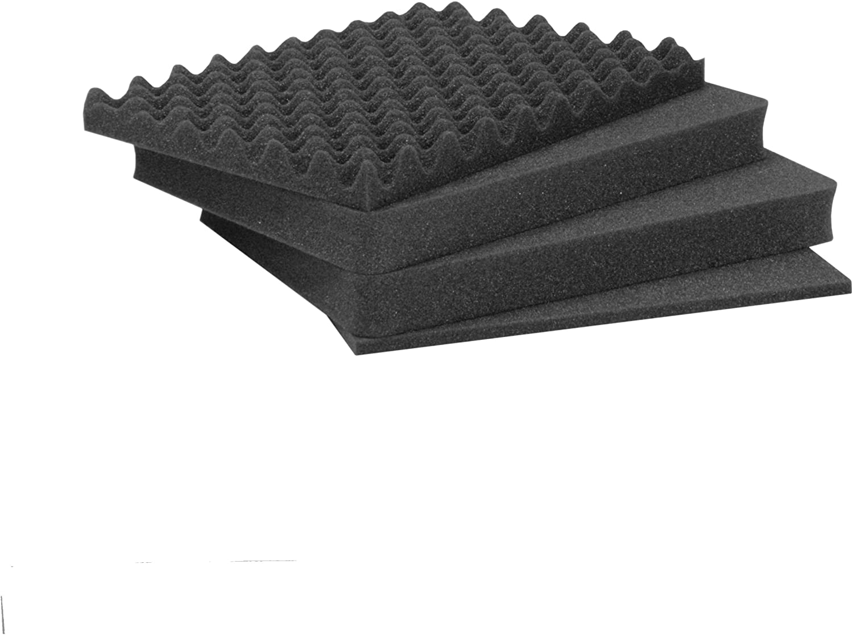 3 Part for 930 Nanuk Case Foam Inserts