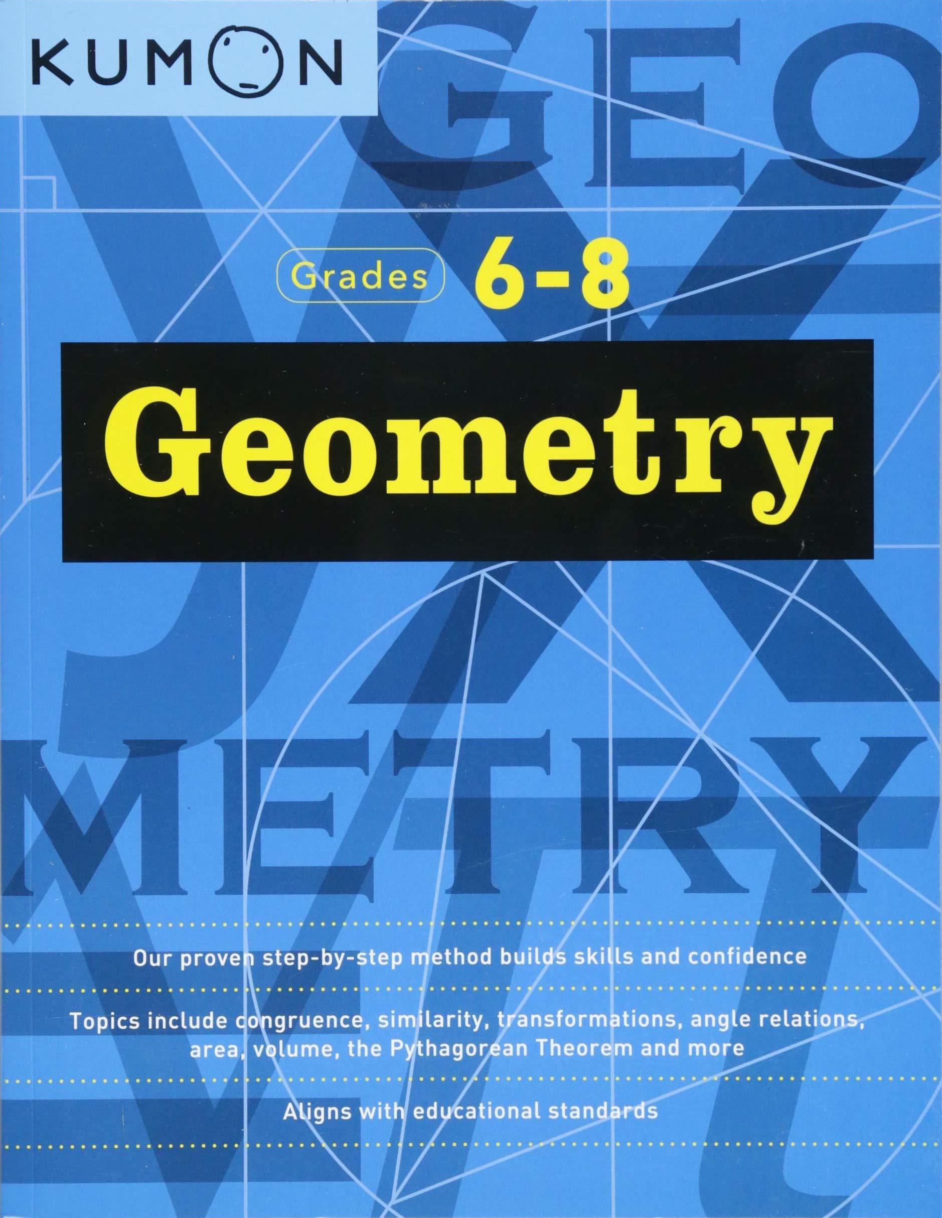 Geometry Grade 6 8 Kumon Kumon Kumon 9781941082713 Books Amazon Ca [ 2427 x 1878 Pixel ]