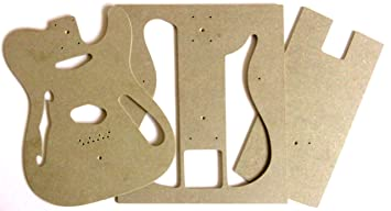Tele thinline 69 style guitar body router templates amazon tele thinline 69 style guitar body router templates pronofoot35fo Image collections