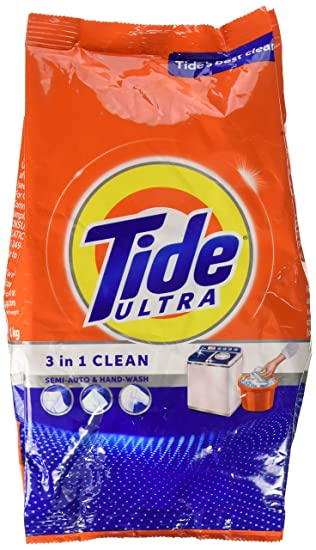 Tide Ultra 3 in 1 Clean Detergent Washing Powder 1 Kg