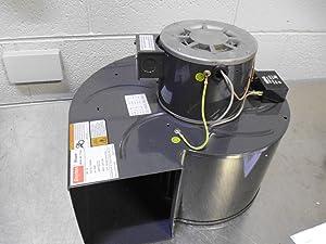 Dayton 1TDU2 PSC Blower, 115/230 Volts, Degrees_Fahrenheit, to Volts, Amps, (