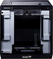 Sindoh 3DWOX 2X 3D Printer,Dual Extruder, Wi-Fi Connected, HEPA filter, Flexible Metal Bed Plate (Heated)
