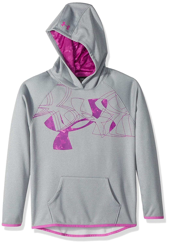Under Armour Girls Fleece Hoody Printed Logo
