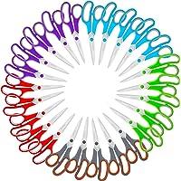 """Scissors Bulk Set of 25-Pack, Niutop 8"""" Multipurpose Sharp Scissors for Office Home High/Middle School Student Teacher…"""