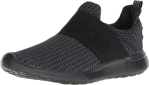 ADIDAS Men Grey Lite Racer Adapt Patterned Running Shoes