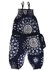Desigual Mono_baiji Pantalones de Peto para Niñas