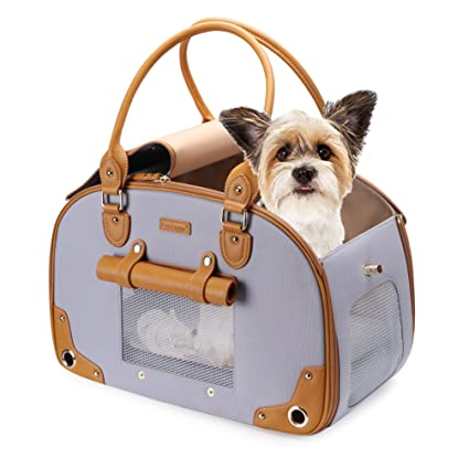 1f8f3e0b9b PetsHome Dog Carrier Purse, Pet Carrier, Cat Carrier, Foldable Waterproof  Premium Nylon Pet