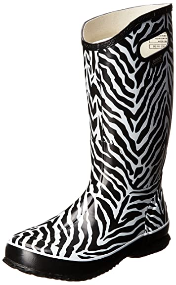 27a2a22b6f86 Amazon.com   Bogs Women's Animal Print Rainboots Waterproof Boot ...