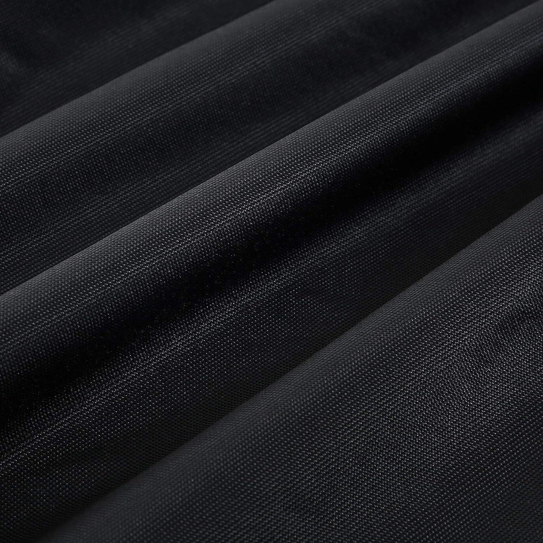 wetterfest 600D Oxford-Gewebe schwarz GFC134BK /Ø x H wasserdicht farbecht SONGMICS Schutzh/ülle f/ür Sonnenschirme mit Ausklappstab 25 x 136 cm Abdeckung f/ür Schirme bis 2 m Abdeckhaube