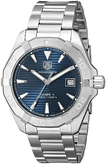 TAG Heuer Aquaracer - Reloj (Reloj de pulsera, Masculino, Acero, Acero inoxidable