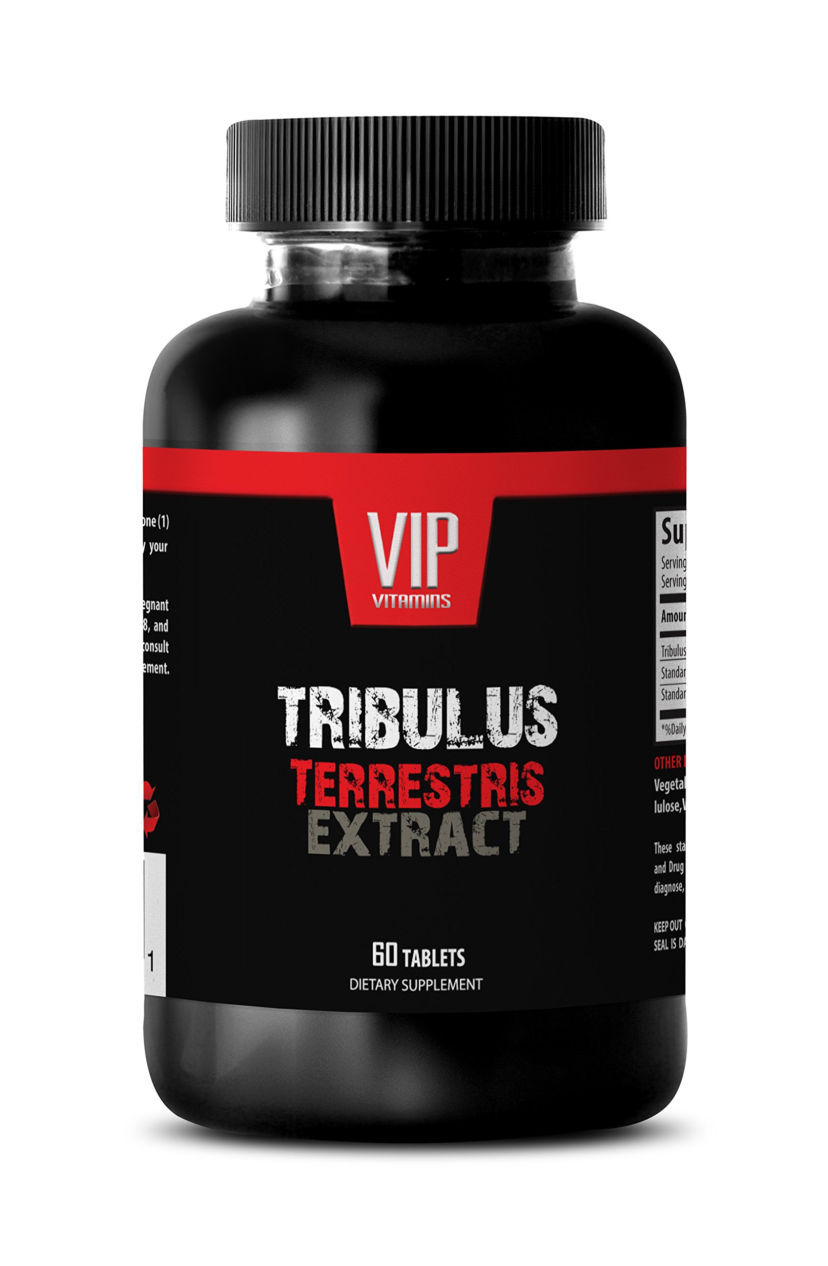 Strength enhancements - NATURAL TRIBULUS TERRESTRIS 1000MG - Tribulus terrestris pills - 1 Bottle (60 Capsules)