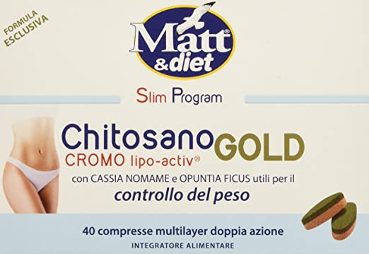 4 opinioni per Matt&diet Chitosano Cromo Lipo-Activ Gold- 36 gr