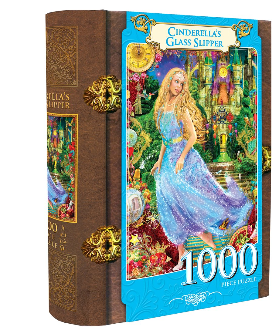 Masterpieces Cinderella's Glass Slipper Book Box Assortment Jigsaw Puzzle