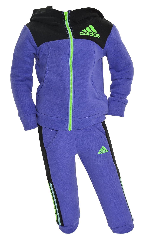 Adidas Little Girls 2-Piece Zip Up Hoodie & Sweatpants Set