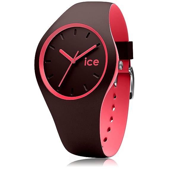 Ice Watch Reloj Analógico para Mujer de Cuarzo con Correa en Silicona 12972: Ice-Watch: Amazon.es: Relojes