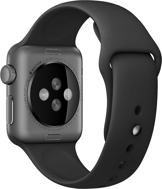 Apple Watch Series 1 Smartwatch 42mm Space Gray Aluminum Case ...