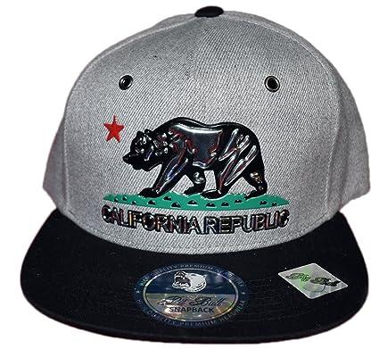 Pit Bull California Republic Gorra de béisbol con Cierre a presión ...