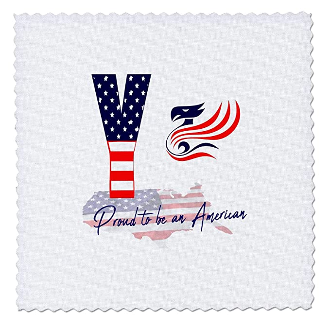 Amazon com: 3dRose Alexis Design - Monogram American Patriot