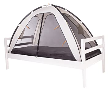 DERYAN Bed Tent Cream  sc 1 st  Amazon UK : avengers bed tent - memphite.com