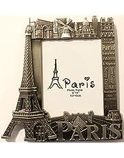 Cadre photo 15x10 cm frame métal Paris Souvenir monument cadeaux dimension 18x18,5cm